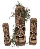 Pietre antiche con l'edera illustrazione di stock