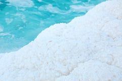 Pietre bianche di sale Immagini Stock Libere da Diritti
