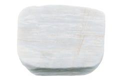 Pietre bianche isolate su fondo bianco Immagine Stock