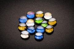 Pietre colorate Fotografie Stock
