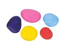Pietre Colourful Immagini Stock Libere da Diritti