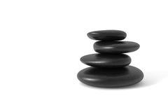 Pietre d'equilibratura fotografie stock