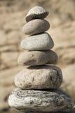 Pietre d'equilibratura Fotografie Stock Libere da Diritti
