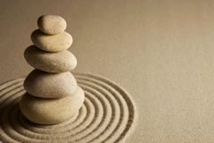 Pietre d'equilibratura Fotografia Stock