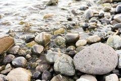 Pietre dal fiume Fotografia Stock Libera da Diritti