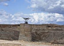 Pietre del complesso industriale delle miniere Immagini Stock Libere da Diritti