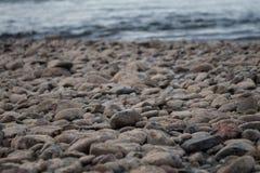 Pietre del fiume Fotografie Stock