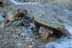 Pietre del fiume Fotografia Stock