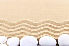 Pietre del mare sulla spiaggia del mare Resto di estate Fotografia Stock