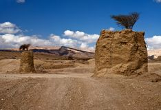 Pietre del Negev Fotografia Stock Libera da Diritti