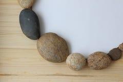 Pietre dell'equilibrio di armonia di zen immagini stock