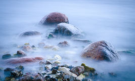 Pietre dell'oceano fotografia stock