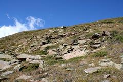 Pietre della montagna Immagini Stock