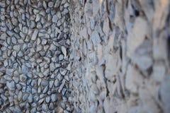 Pietre della parete di pietra Fotografia Stock