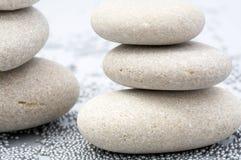 Pietre della sabbia come priorità bassa Fotografie Stock Libere da Diritti