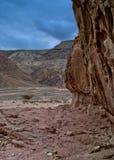 Pietre della sosta geologica Timna Immagine Stock Libera da Diritti