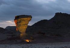 Pietre della sosta geologica Timna, Israele Fotografie Stock Libere da Diritti