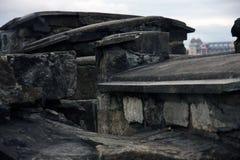 Pietre delle rovine Fotografia Stock Libera da Diritti