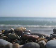 Pietre di colore del mare Fotografie Stock Libere da Diritti