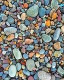 Pietre di colori dei ciottoli Fotografie Stock Libere da Diritti