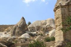 Pietre di Impresive in Cappadokia Fotografia Stock