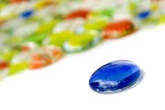 Pietre di vetro Fotografia Stock