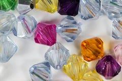 Pietre di vetro colorate Immagine Stock Libera da Diritti