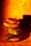 Pietre di zen Fotografie Stock Libere da Diritti