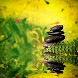 Pietre di zen Fotografia Stock Libera da Diritti