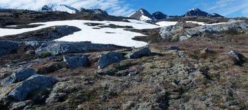 Pietre e montagna Fotografia Stock