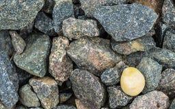 Pietre ed ambra del granito Fotografia Stock Libera da Diritti