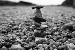 Pietre equilibrate Fotografia Stock Libera da Diritti