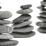 Pietre equilibrate di zen Fotografie Stock