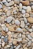 Pietre esposte all'aria su una spiaggia Immagini Stock