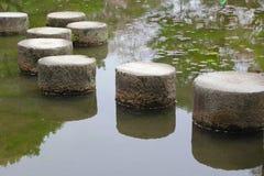 Pietre facenti un passo a Kyoto Fotografie Stock Libere da Diritti
