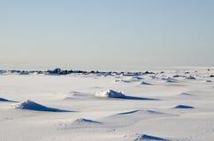 Pietre ghiacciate Fotografia Stock