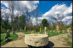 Pietre gravi di Scythians Immagini Stock