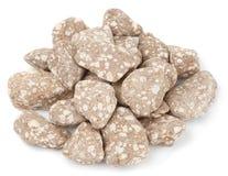 Pietre minerali utilizzate nei sistemi di purificazione dell'acqua Immagini Stock
