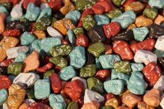 Pietre Multi-colored immagine stock