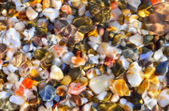 Pietre multicolori, priorità bassa astratta. Immagine Stock
