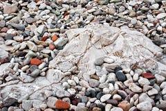 Pietre naturali variopinte Fotografia Stock Libera da Diritti