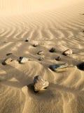 Pietre nella sabbia Immagine Stock Libera da Diritti