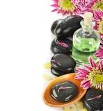 Pietre per il massaggio Fotografie Stock Libere da Diritti