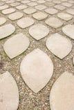 pietre per lastricati dell'Ungheria del eger del castello Immagini Stock
