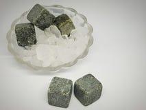 pietre per le bevande di raffreddamento immagine stock