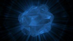 pietre preziose di cristallo dei gioielli dei diamanti delle gemme 4k, soldi ricchi di ricchezza di minerali illustrazione vettoriale