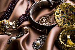 Pietre preziose - gioielli immagine stock