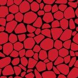 Pietre rosse Fotografia Stock
