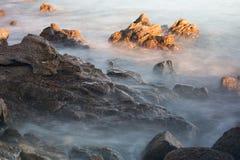 Pietre sulla costa due Fotografie Stock