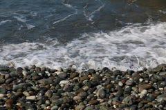 Pietre sulla spiaggia Fotografie Stock